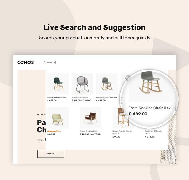 Cenos - Modern Furniture WooCommerce Theme - 6