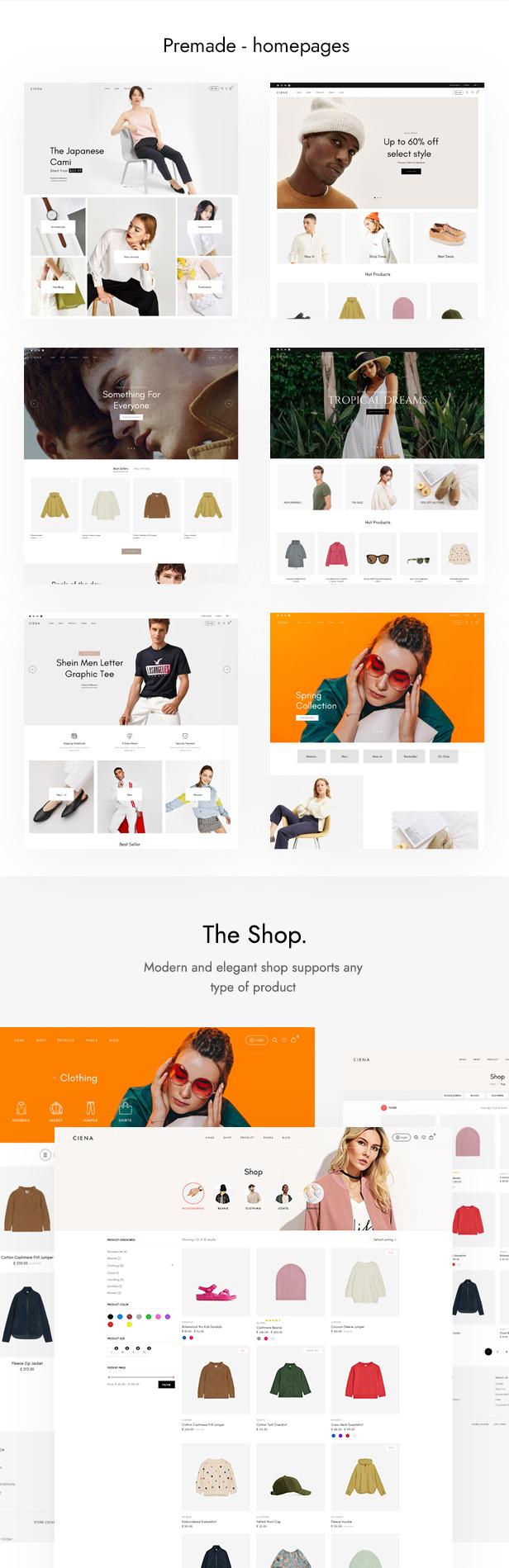 Ciena - Fashion WooCommerce WordPress Theme - 6