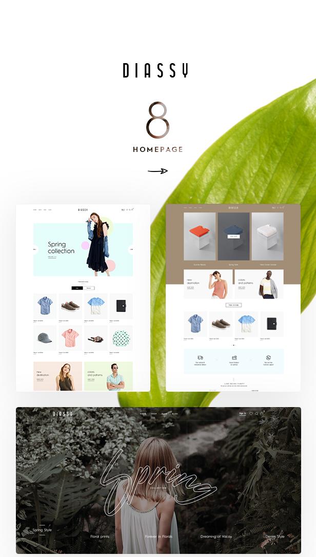 Diassy - Multipurpose WooCommerce Theme - 1