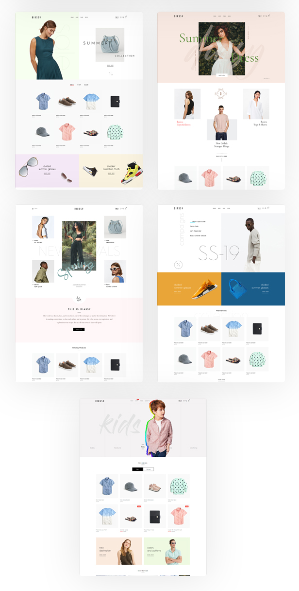 Diassy - Fashion WooCommerce Theme - 2