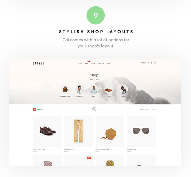 Diassy - Fashion WooCommerce Theme - 3