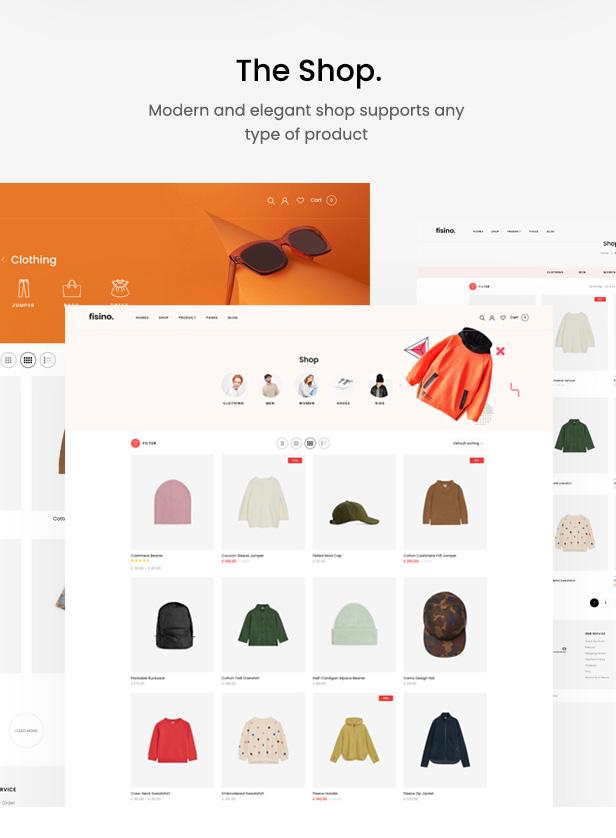 Fisino - Fashion WooCommerce WordPress Theme - 4
