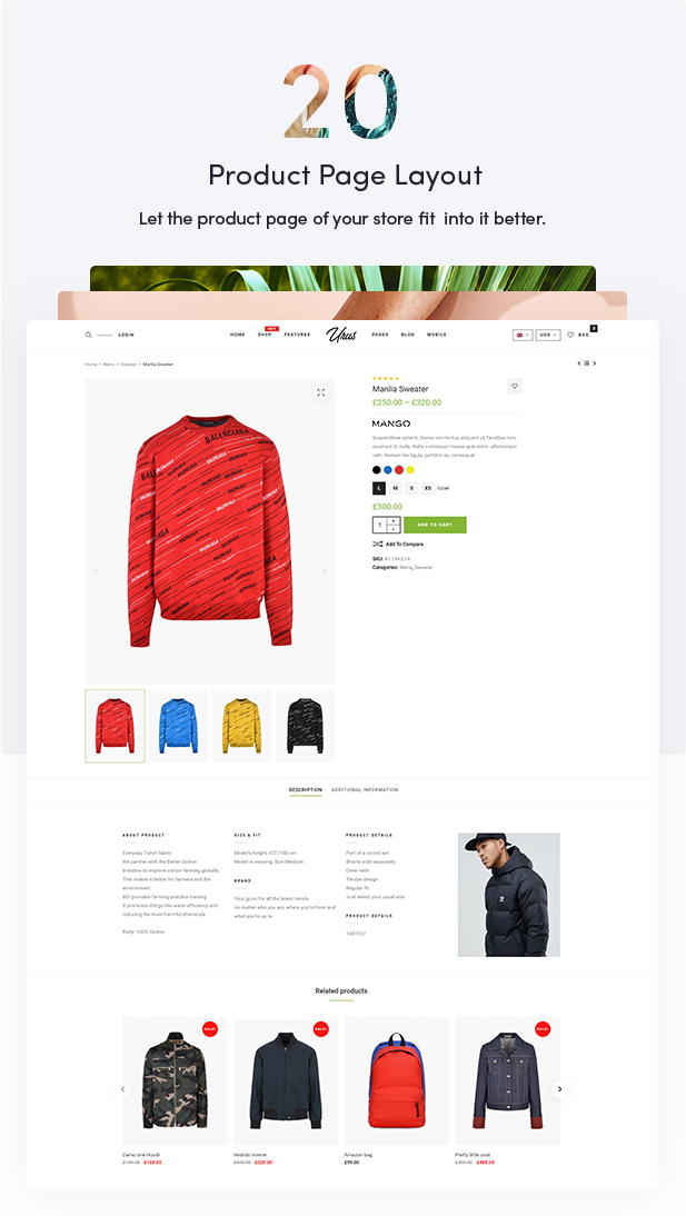 Urus - Multipurpose Responsive WooCommerce Theme - 15