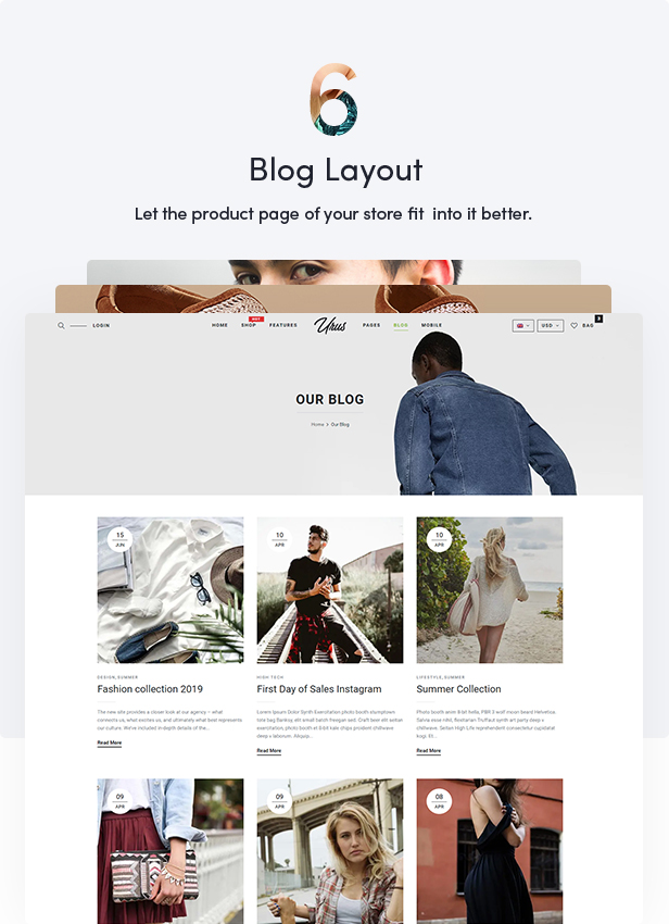 Urus - Multipurpose Responsive WooCommerce Theme - 16